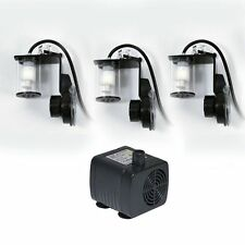 AquaLight 12V Mini-Wassernachfüllanlage + 3 Sensoren Nachfüllanlage für Aquarien