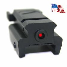 Tactical Red Dot Laser sight with picatinny Weaver rail Mount For Pistol/Glock