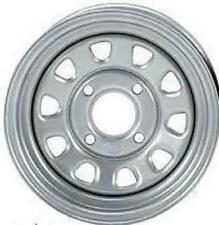 2-ITP Delta Silver Steel Wheel Rear Yamaha 93-04 YFM400/450 Kodiak 4x4 -371336