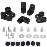 For Ford Focus ST Car Rear Wing Spoiler Riser T-6061 Aluminum Black Accessories