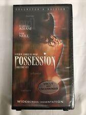 Possession VHS Isabelle Adjani Art Horror sealed Uncut