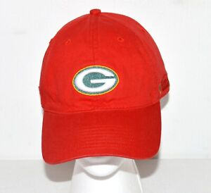 NFL Green Bay Packers Red Hat One Size Adjustable American Family Insurance