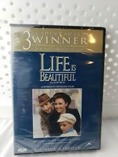 Life Is Beautiful (Dvd) Collector's Edition New Sealed