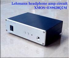 XU208 XMOS + ES9028Q2M DAC + Lehmann headphone amplifier circuit  Finished 220V