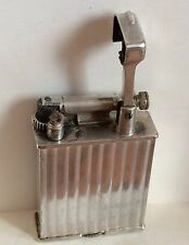 DUNHILL for PARKER PETROL LIGHTER BRIQUET ESSENCE 1930 FRANCE Silver Plate