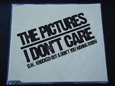 THE PICTURES - I DON'T CARE CD