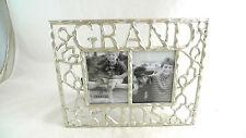 GRANDKIDS Photo Picture Frame Silvertone NEW Malden Designs