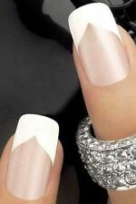FRENCH TIP Manicure 3 Styles Peel Off Strip Guides NEW Sealed Pack ~ USA SELLER