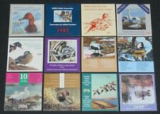 New ListingCanada 1986-97 Duck Conservation stamp booklets unused Vf Nh face value Can$