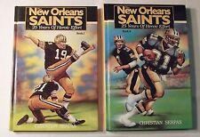 The New Orleans Saints, 25 Years of Heroic Effort, Books 1 & 2, Christian Serpas