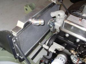 42mm Aluminium  Radiator For Triumph Spitfire MARK III IV 1500 1964-1978