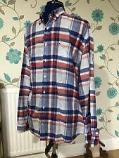 Tommy Hilfiger Check Multicoloured Long Sleeve Shirt XXL 2XL