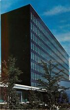 Houghton Park Corning Glass Works Administration Bldg Corning New York Postcard