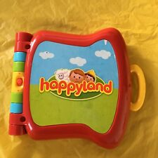 ELC Happyland Electronic Learning Book Retro Toddler Game 2010