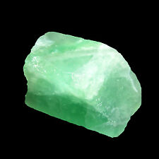 170.00Cts. Untreated Rough Shaped Natural Translucent Green Fluorite Gem-CH 6248