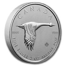 2020 RCM Canada 2 oz .9999 Silver PRE-SALE Piedfort Canadian Goose BU Coin