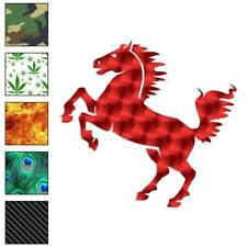 Rearing Horse Decal Sticker Choose Pattern + Size #703