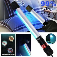 Portable LED UV Disinfection Lamp Tube Handheld UVC Sterilizer Germicidal Light