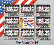 "St. VINCENT - MNH ""Football - WorldCup USA 94 - BULGARIA"" Souvenir Sheet !!!"