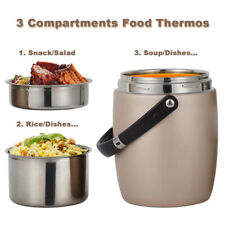 Hot Food Thermos 2L Stainless Steel Vacuum Insulated Thermal Lunch Container