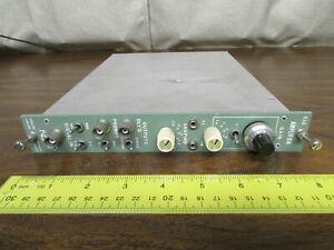 ND 510 ADC Module Nuclear Data Amplifier Canberra NIM BIN Plugin