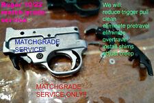 RUGER 10/22 MATCH GRADE TRIGGER SERVICE & TRIGGER MATCHGRADE TRIGGER JOB - #1