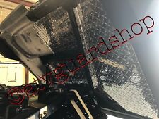 2018 2019 POLARIS RANGER 1000 BLK DIA PLATE REAR MUD GUARD PACKAGE