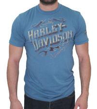 Harley Davidson  Quality Blue Shirt Nwt Men's 4XL