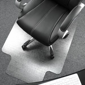 "Ultimat® Polycarbonate Lipped Chair Mat for Carpets up to 1/2"" - 35 x 47"""