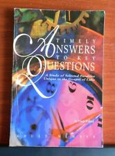 Timely Answers to Key Questions Adult: Study of Gospel of Luke by Frank Pollard