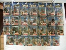 Star Wars SAGA 2002 Collection 1 Complete with all 27 figures ~ NEW