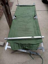 Military Issue Aluminum Folding Cot (heavy Duty)