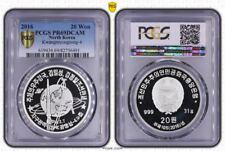 KOREA 20 Won 2016 Silver PCGS PR69DCAM Kwangmyongsong-4 Ballistic Missile Rocket