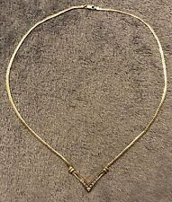 10k Gold Yellow Diamond Collar Necklace