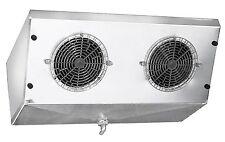 High Profile 2-Fan Reach-In Cooler Evaporator Air Defrost 2,300 BTU 360 CFM 220V