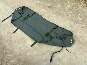 British Army 12x12 Tent Canvas POLE BAG Valise 6ft Awning Tent Poles Storage