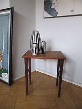 60s Teak Bestelltisch Nachttisch Tisch sidetable - table d'appoint - tavolino