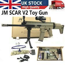 JM Scar V2 Gel Balls Blaster Gun Toy Electric Mag Feed Water Ammo Shoot UK Stock