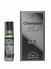 Champion Black 6ml by Al Rehab Concentrated Roll On Floral Perfume Oil/Attar