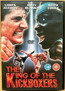 King of the Kickboxers DVD No Retreat Surrender 4 Martial Arts Film Movie