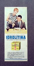 F651- Advertising Pubblicità - 1963 - IDROLITINA , ACQUA DA TAVOLA