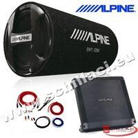 Kit subwoofer tubo 30 cm 1000 watts + Amplificatore Alpine + cavi BBX-F600 +SWT