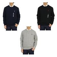 Polo Ralph Lauren Crew Solid Pullover Sweatshirt Sweat -- 3 colors
