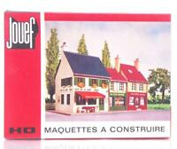 MINT UNMADE JOUEF 1981 HO GAUGE  KIT - BLOC 3 IMMEUBLES - ROW OF THREE BUILDINGS