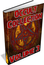 RARE OCCULT BOOKS Vol 3 DVD -Mythology,Lore,Superstition,New Thought,Rosicrucian