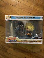 SHIPS NOW🔥Funko Animation Sasuke Vs Naruto Anime Moment #732 GameStop Exclusive