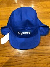daecb53d6c4 Supreme Primaloft Ear Flap Camp Cap Hat (Royal) FW18