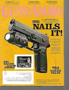 Guns & Ammo Handguns Magazine May 2014 CZ 455 Precision, HK's Black Rifle