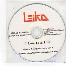 (FS588) Leika, Love Love Love - 2014 DJ CD