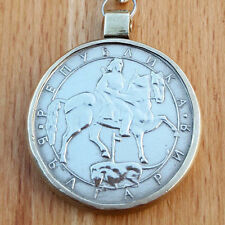 Pendant Vintage Coin Bulgaria Accessories Necklaces Silver Gift Versace Original